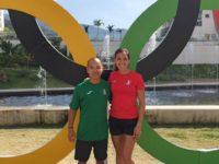 Ed Tseng at the Olympics in Rio